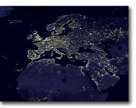 Earth's lights (© NASA)
