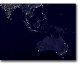 Earth's lights (© NASA)